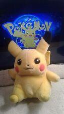 "Vintage 1998 Hasbro Pokemon #25 Pikachu 8"" Plush  RARE Nintendo"