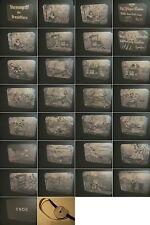 16mm Film1935-Ozaphan/Kalle-Tick-Comics:Sturmangriff Urwald-Antique animation