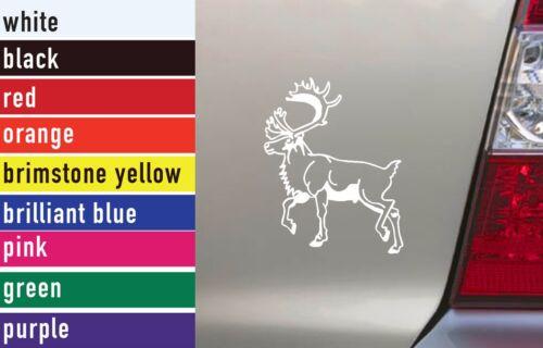 Caribou Hunting Vinyl Sticker Decal Car-Truck Laptop-Netbook 1634