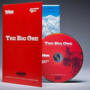 The-Big-One-A-Ski-amp-Snowboard-Film-DVD-New-Digipak-1996-Jackson-Hole-TGR