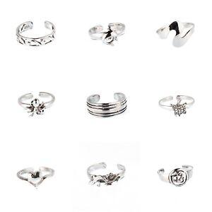 FleißIg Zehenring Zehenringe Fußring Fussschmuck Toe Ring 925 Sterling Silber Z318 Modischer (In) Stil;