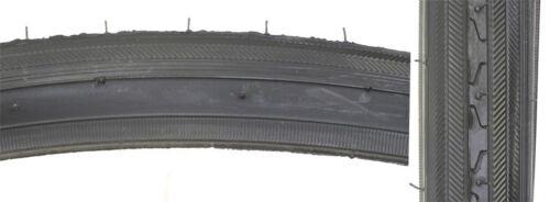 New Road Bike Bicycle Fixie Tire 27 X 1 1//4 Black Wall 70 PSI BE5902