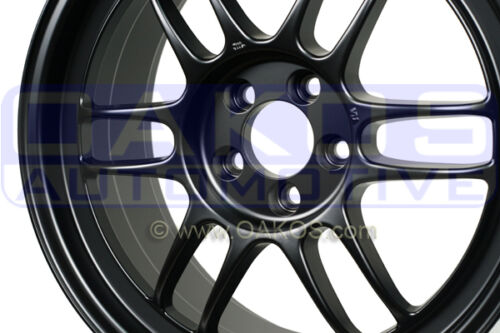 "ENKEI RPF1 Wheel 17x8/"" 5x100 45mm MATTE BLACK WRX BRZ FR-S Rim 3797808045BK"