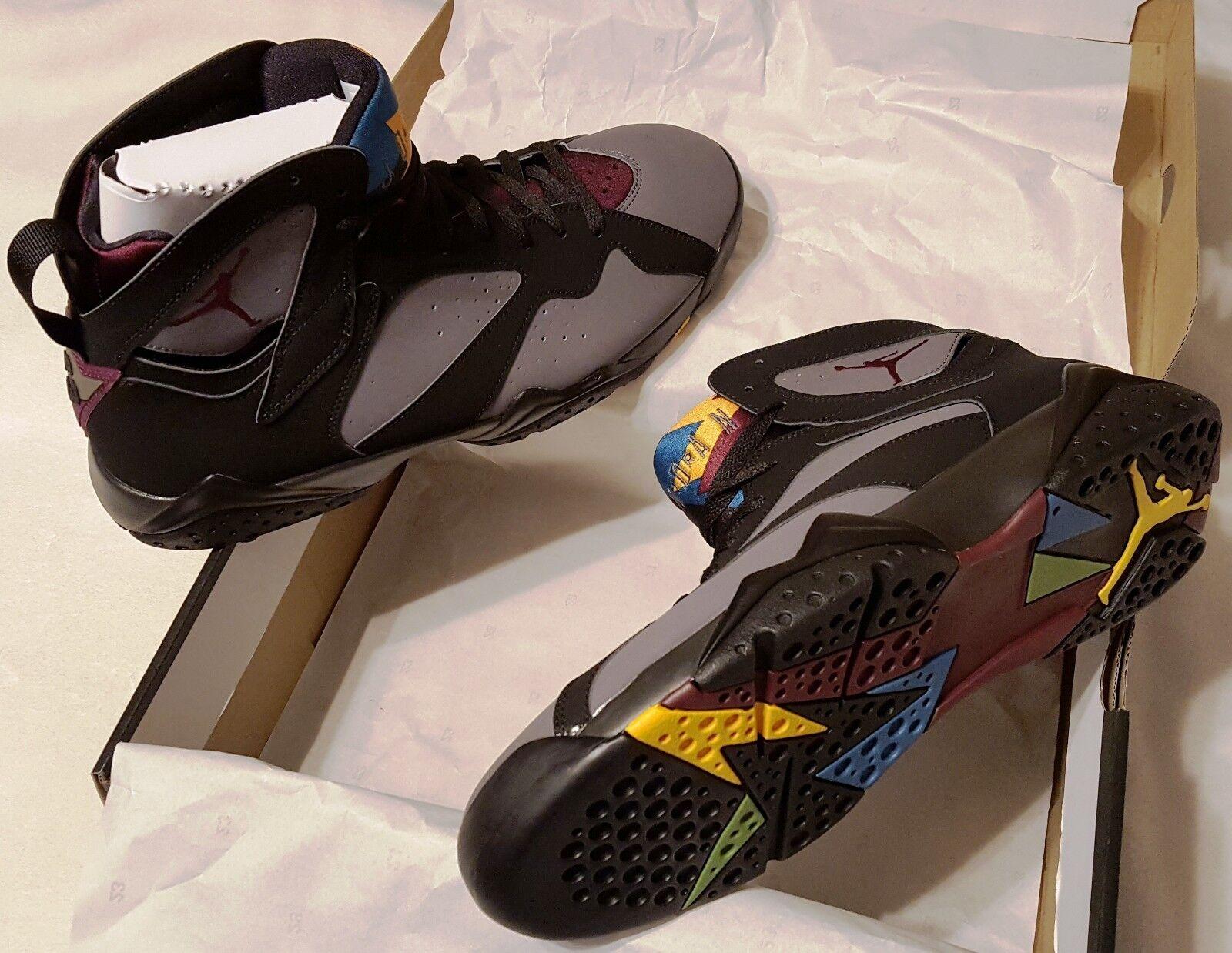 Jordan 7 Bordeaux Size 12 Mens New In Box Basketball Nike Air Retro 2015