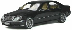 OTTO-MOBILE-846-MERCEDES-BENZ-W220-S65-AMG-2004-resin-model-car-black-Ltd-E-1-18