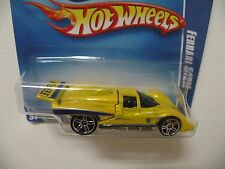 2010 Hot Wheels, Ferrari 512M, PR5's,  Short card, Yellow