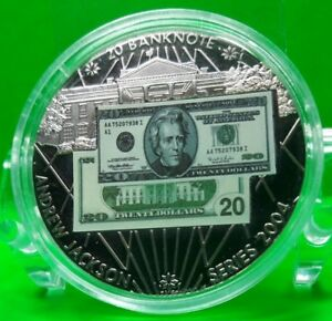 20-ANDREW-JACKSON-BANKNOTE-COMMEMORATIVE-COIN-PROOF-VALUE-59-95