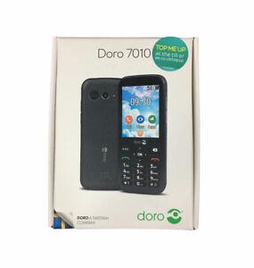 Doro 7010-NERO (EE) Mobile Phone Handset-Nuovo E Inscatolato