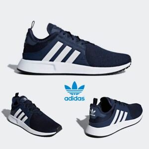 176c5a759dbe Adidas Original X PLR Shoes Runner Shoes Running Navy White Blue ...