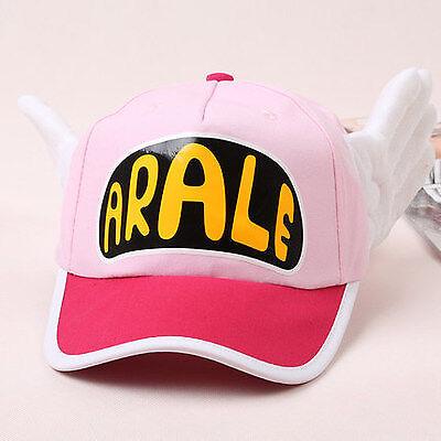 Japanese Anime Cute Dr.Slump Arale Angel Wings Cosplay Hats Summer Baseball Cap