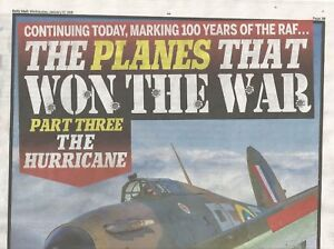 The Planes That Won The War   3 x Dail Mail Newspaper Pullouts Jan 2018 - Bury, United Kingdom - The Planes That Won The War   3 x Dail Mail Newspaper Pullouts Jan 2018 - Bury, United Kingdom