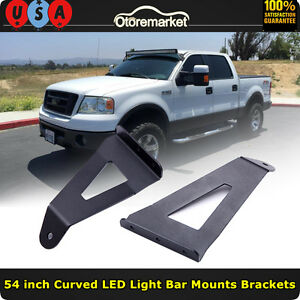 04 14 Ford F150 54 Inch Curved Led Light Bar Upper