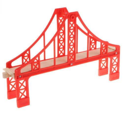 Various Wooden TRAIN TRACKS BUILDING Set Railway Bridge Accessory Toy Compatible