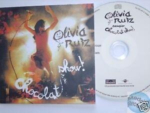OLIVIA-RUIZ-CHOCOLAT-SHOW-CD-PROMO-SAMPLER