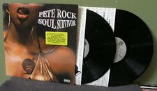 """Pete Rock """"Soul Survivor"""" 2x LP Orig OOP & CL Smooth Wu-Tang Clan Mobb Deep"""