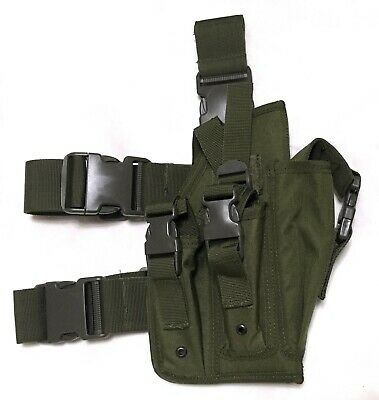 Modular Pistol Pouch Holster--OD Green
