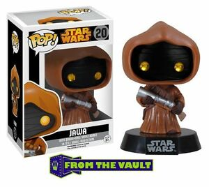 "DAMAGED BOX STAR WARS JAWA 3.75"" POP VINYL FIGURE BOBBLE-HEAD FUNKO"