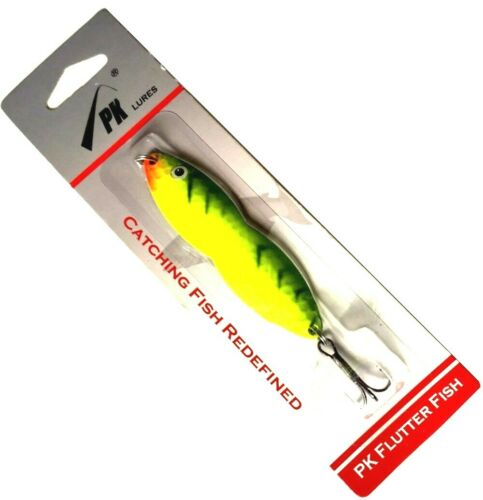 PK Flutter Fish FireTiger 1-ounce Fishing Spoon
