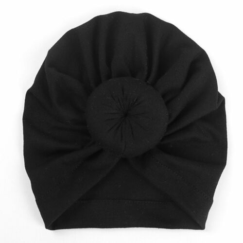 Newborn Baby Boy Girl Soft Beanie Hat Indian Turban Knot Hospital Hat Cap