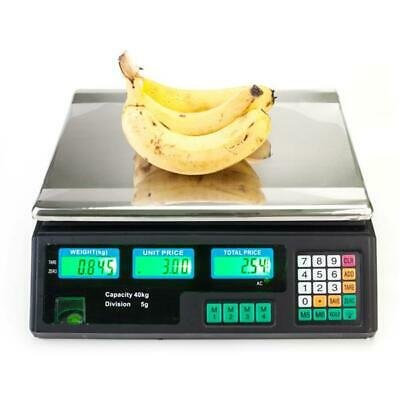 40KG ELECTRONIC DIGITAL FRUIT WEIGHING SCALES FOR PRICE SHOP TRADE WEIGHS RETAIL