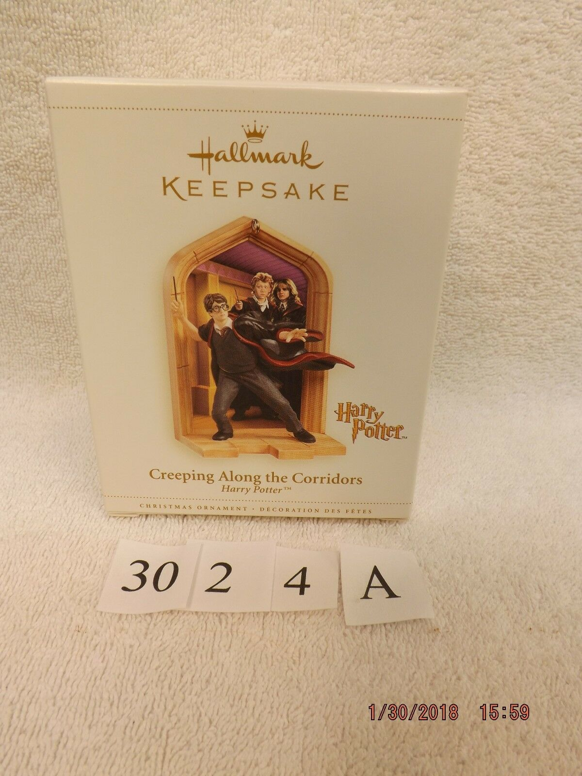 REDUCED   Hallmark Keepsake Harry Potter Creeping Along the Corridors 2006 NIB