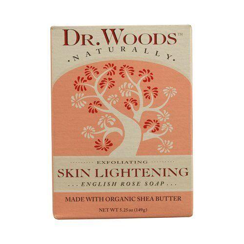 Woods Dr English Rose Soap 5.25 oz 149 g Skin Lightening