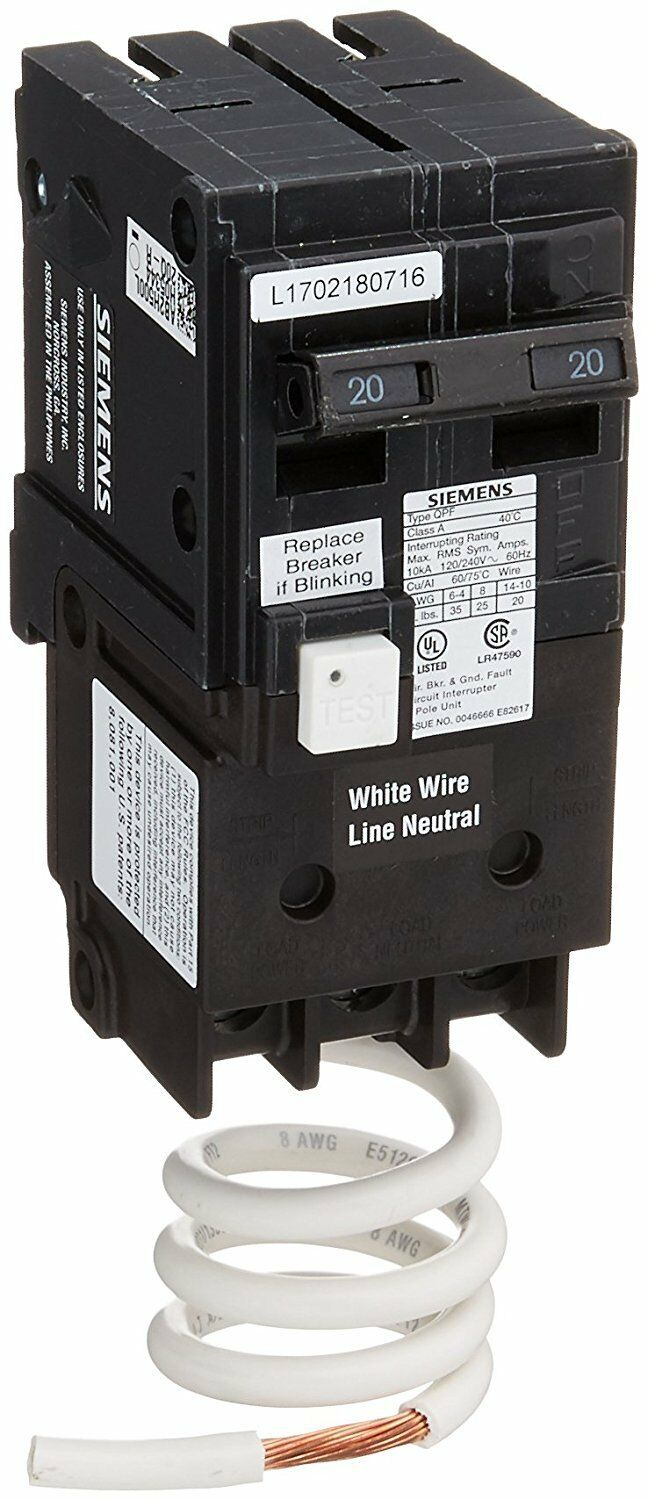 Murray 60 Amp Gfci Double Pole Breaker Mp260gf Ebay 20 2 In Doublepole Circuit Norton Secured Powered By Verisign