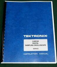 Tektronix 11801b Service Manual Comb Bound Amp Plastic Protective Covers