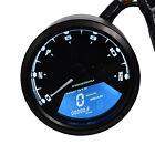 LCD Digital Tachometer Speedometer Odometer Motorcycle Motorbike 12000RPM New FO
