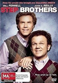 1 of 1 - Step Brothers - Will Ferrell & John C. Reily DVD R4 NEW