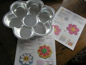 Wilton Flower Cake Pan Instructions