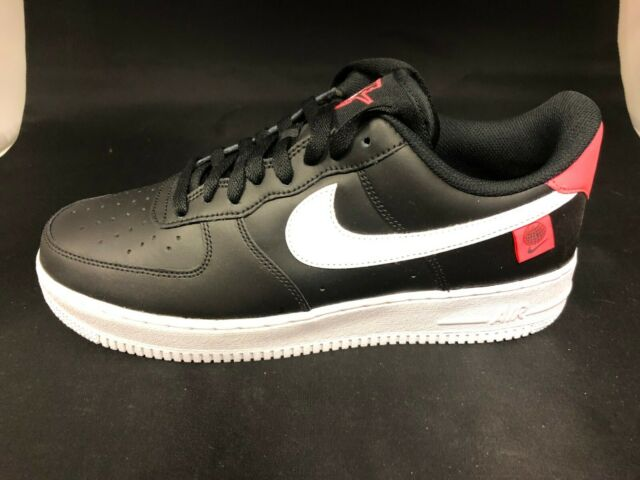 Nike Promo Sample Air Force 1 Low Ck7648-001 Worldwide Black Crimson Mens  Size 9