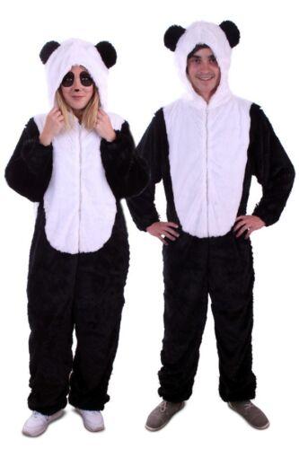 XL UNISEX * Orso M L animali animale Costume S PANDA NERO BIANCO BEAR Costume animale