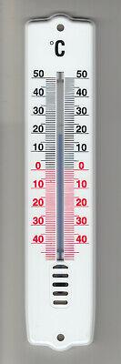 Intellective Esterno/interno Analogico-termometro, Bianco, 21 Cm, Deutsches Marchi Marca-
