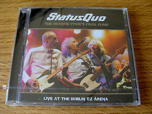 CD-Double-Status-Quo-The-Frantic-Four-039-s-Final-Fling-Live-Dublin-Arena-2014