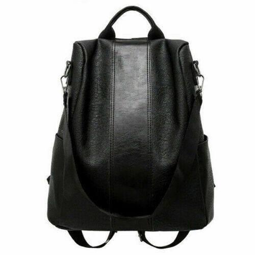 Damen rucksack PU Leder Anti Diebstahl wasserdichter Daypack Rucksack taschen 64