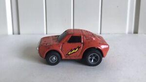 VINTAGE Tonka in Metallo Auto Da Corsa RUOTA Ampia veicolo in arancione made in Japan