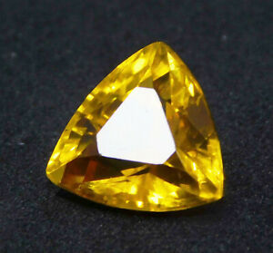 Natural-Certified-Trillion-Shape-11-Ct-Yellow-Ceylon-Sapphire-Loose-Gemstone