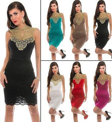 Koucla Cocktail Kleid Party Etui PencilKleid Abendkleid Dress