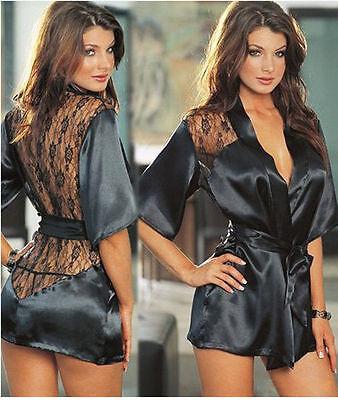 Women Sleepwear Chemise Babydoll Lingerie Nightie Dress Sexy G-string Underwear