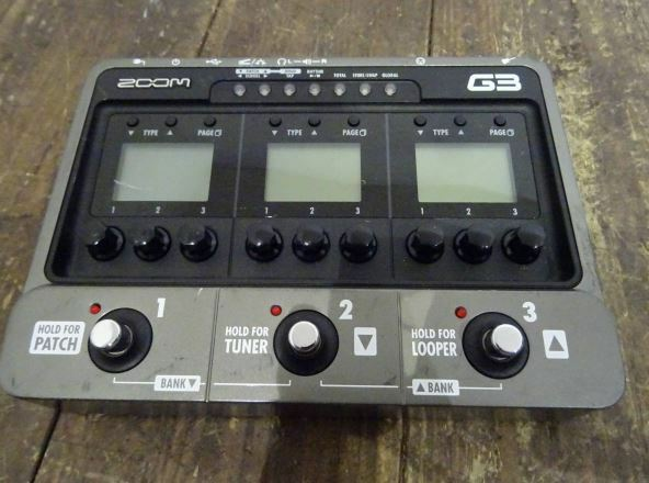 Zoom G3 Guitar Multi-Effects Pedal with Tracking Number Free Shipping