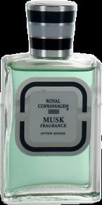 Musk Fragance By Royal Copenhagen For Men After Shave Lotion Splash 1oz New