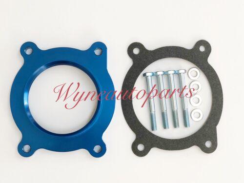 BLUE Throttle Body Spacer Fit Silverado 1500//Suburban//Sierra 1500//Yukon 5.3L V8