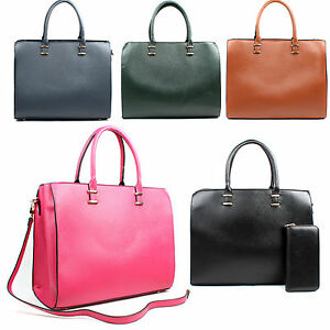 3c3477c94dfa Details about Ladies Designer Hobo Briefcase Woman Large Satchel Laptop  Tote Bag Purse