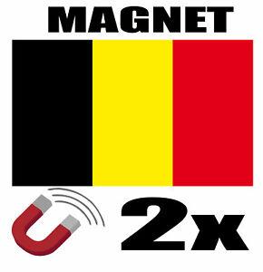 2-x-BELGIQUE-Drapeau-Magnet-6x3-cm-Aimant-deco-BELGIQUE-magnetique-frigo