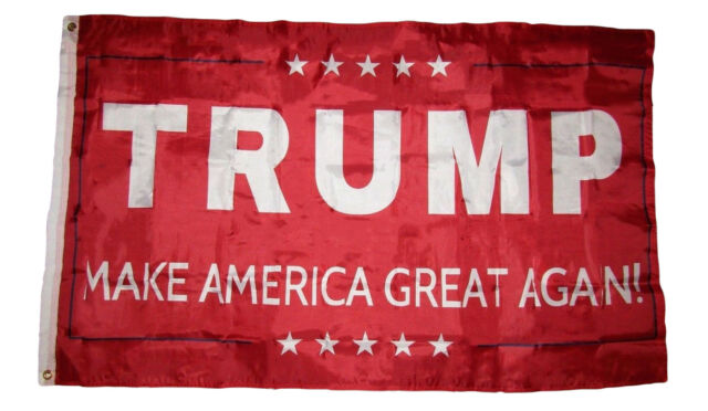 3x5 USA American Trump Making America Great Again Thumbs Up Flag 3/'x5/' Grommets