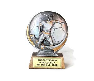 Soccer-Male-Trophy-Cast-Resin-Midfielder-Desktop-Series-Free-Lettering