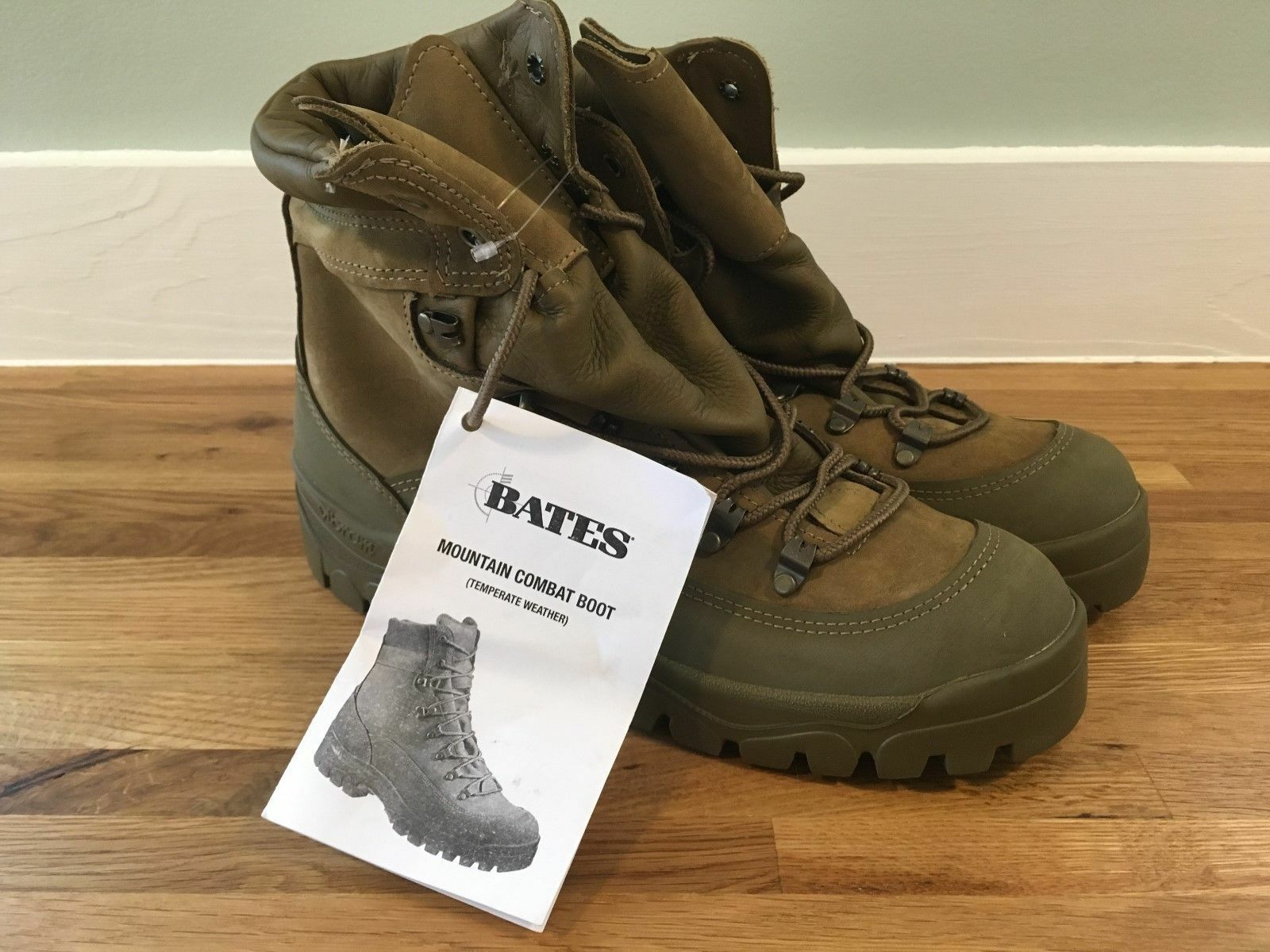BATES Size 10.5 W Gore-Tex MILITARY  MCB MOUNTAIN COMBAT HIKER BOOTS
