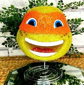 TMNT MIKEY HAPPY Lamp Nightlight Teenage Mutant Ninja Turtles Birthday Gift