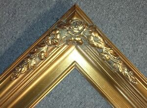 3-25-034-Gold-antique-Ornate-art-Classic-wedding-Frame-16-034-x20-034-B6G